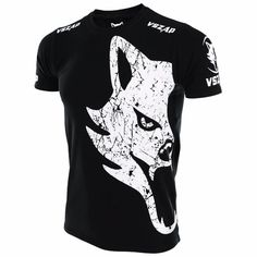 Motivated Boxing Jerseys Vszap Mma T-shirt Mma Fitness Training Combat Fighting Wolf Running Muay Thai Cotton Breathable Online Shop Fitness & Body Building Boxing
