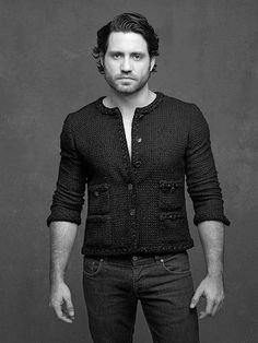 Chanel Little Black Jacket Exhibition. Edgar Ramirez by Karl Lagerfeld