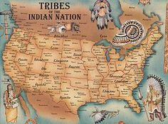 Tribes of the Indian Nation - web site has click-able map to enlarge.    http://www.aaanativearts.com/us_tribes_AtoZ.htm