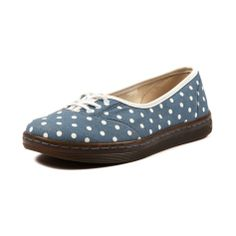 Dr. Martens Port Dots Casual Shoe in Blue at Shi by Journeys