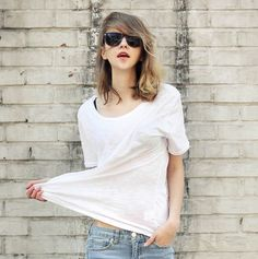 Pop New Women Casual Solid Nice Summer T Shirts White Top Black Tees Shirt Solid Short Sleeve Casual Shirts O Neck Top Cotton #Affiliate