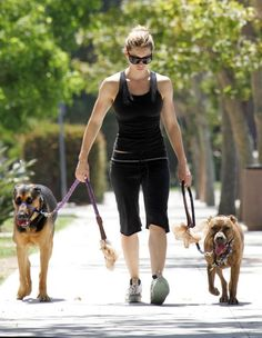 minus the dog on the left, and I'm pretty sure this is what i look like when i walk my sheliabear.....bad ass