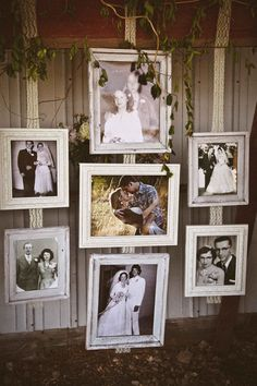 Yes!  I've wanted to do this for ages, photos of the parents' and grandparents' weddings.