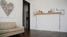 Vintage Revivals | Loft Living Room & Entryway Makeover Reveal!