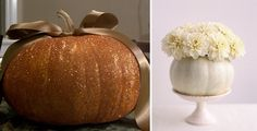 Add Flair to Your Fall Wedding with Glam Pumpkins
