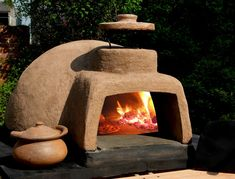 DIY wood burning oven for the Camp!