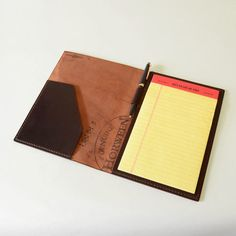 Arts &Crafts / Horween Shell Cordovan Legal Pad Cover