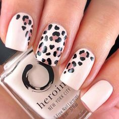 In seek out some nail designs and some ideas for your nails? Here is our list of must-try coffin acrylic nails for trendy women. Nails Polish, My Nails, Shellac Nail Art, Dot Nail Art, Pink Polish, Finger Nail Art, Leopard Nail Art, Leopard Print Nails, Cheetah Nail Designs