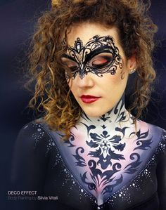 DECO EFFECT Body Painting by Silvia Vitali