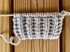 Knitting Stitches, Knitting Patterns Free, Stitch Patterns, Free Pattern, Crochet Patterns, Tunisian Crochet, Free Crochet, Knit Crochet, Knitting Projects