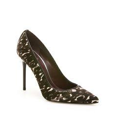Camo-print high heel. Gulp. PIPENOUVEAU @ StuartWeitzman.com