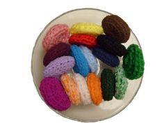 HANDMADE SCRUBBIES Nylon Net Pot Pan Scrubbers SET of FOUR (4)!!!!Perfect for Giving to Self, Family, Friends!!! by Handmade Crocheted, http://www.amazon.com/dp/B008EET0FK/ref=cm_sw_r_pi_dp_RVyJrb1K6B855