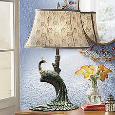 Peacock Table Lamp from Seventh Avenue ® | DI705326