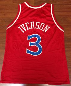 Allen Iverson rookie year Champion jersey. Purchase price   3.99. Selling  price   39.99. 373ea66f6