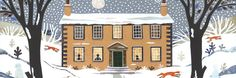Piece of the Week: 'Winter foxes, Haworth Parsonage' by Amanda White