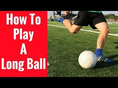 This video breaks down how to play a long ball like David Beckham.