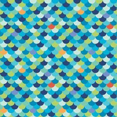 Scallop Fish Scales - Under the Sea Nautical Prints by Monaluna Organic Fabrics - 1/2 yard by PinkDoorFabrics on Etsy https://www.etsy.com/listing/194227911/scallop-fish-scales-under-the-sea
