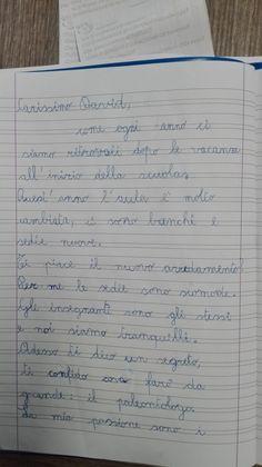 Classe Terza-Italiano-la Lettera- Settembre - Maestra Anita Gin, Sheet Music, Bullet Journal, Music Score, Jeans, Music Notes