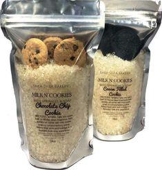 Bath Sprinkles Soap- Milk N Cookies Sugar Scrub Homemade, Sugar Scrub Recipe, Sprinkle Cookies, Mini Cookies, Bath Kit, Vanilla Recipes, Hair Care Brands, Do It Yourself Fashion, Milk Bath