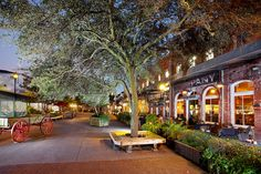 City Market, Savannah, GA. Gorgeous place, awesome galleries, fun restaurants.
