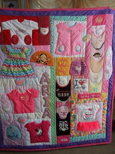 Daphne Scott - quilting - daughters first year clothes