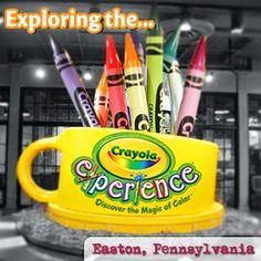 Exploring the Crayola Experience in Easton Pennsylvania