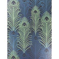 Buy Matthew Williamson Peacock Wallpaper Online at johnlewis.com