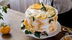 Recipe: Lemon Meringue Layer Cake — Video from Kitchn