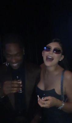 Kylie And Travis Scott, Travis Scott Kylie Jenner, Look Kylie Jenner, Kylie Jenner Outfits, Couple Aesthetic, Bad Girl Aesthetic, Cute Relationship Goals, Cute Relationships, Cute Couples Goals