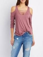 New moda de blusas juveniles 2019 Ideas Sweater Weather, Charlotte Russe Tops, High Level, Mode Style, Refashion, Pulls, Diy Clothes, Passion For Fashion, Spring Outfits