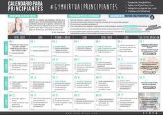 calendario principiantes