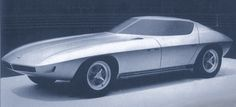 http://chicerman.com  carsthatnevermadeit:  Chevrolet Corvette Prototype 1963. Designed underHenry Haga a concept withdoors that swung up and forward around the center pillar of the split windshield  #cars