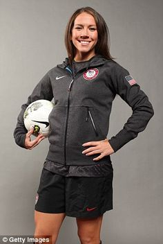 Lauren Holiday, who retired from soccer last year, was among the world's most respected players