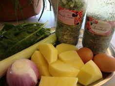 Σπανακοκεφτέδες ,Μούρλια γεύση !!!! ~ ΜΑΓΕΙΡΙΚΗ ΚΑΙ ΣΥΝΤΑΓΕΣ Greek Recipes, Apple Pie, Potatoes, Vegetables, Cooking, Food, Kitchen, Potato, Veggies