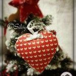 felt christmas heart