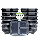 #9: Freshware 15-Piece 3-Compartments Bento Lunch Box with Lids Set 32 oz http://ift.tt/2cmJ2tB https://youtu.be/3A2NV6jAuzc