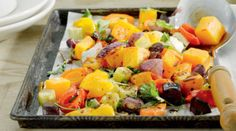 Try This Colourful Nutrient-Rich Roast Veg Recipe