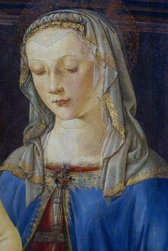 Actuall Pictures of Andrea Del Verrochio | Andrea del Verrocchio, Madonna mit Kind, Detail (Virgin with the Child ...