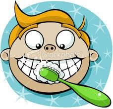 Brush your teeth before you go to sleep at night. It helps protect against buildup, tooth decay, and