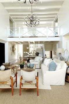 2014 Southern Living Idea House I designed by Suzanne Kasler featuring Ballard Designs