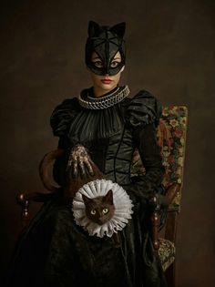Cat Woman -- Sacha Goldberger