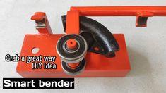 Metal Bending Tools, Tv Cabinet Design, Metal Pipe, Metal Projects, Blacksmithing, Tool Box, The Creator, Homemade, Steel