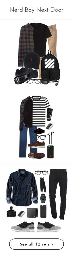 Nerd Boy Next Door by simpleautumn on Polyvore featuring polyvore, Urban Pipeline, True Religion, Off-White, Vans, Polo Ralph Lauren, Rip Curl, Ray-Ban, Uniqlo, men's fashion, menswear, clothing, Zilli, Burberry, Puma, PS Paul Smith, Kuboraum, Movado, Tod's, Native Union, Master & Dynamic, Banana Republic, Tom Ford, TAG Heuer, Dsquared2, Mophie, John Varvatos, Asics, Life is good, B&O Play, Calvin Klein, Incotex, A.P.C., Top of the World, G-Shock, Prada, Le Labo, Kenzo, Herschel Supply Co…