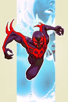 Spider-Man 2099 screenshots, images and pictures - Comic Vine Spiderman Venom, Spiderman Art, Amazing Spiderman, Comics Universe, Marvel Cinematic Universe, Comic Books Art, Comic Art, Arte Nerd, Naruto Cute