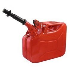 Red 2.6 Gallon Fuel Can