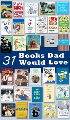 31 Bookish Gifts for Dad #Father'sDay