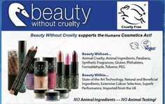Beauty Without Cruelty supports the #HumaneCosmeticsAct & the #BeCrueltyFree campaign! http://www.beautywithoutcruelty.com/