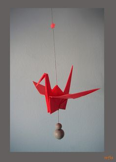 Paper Crane and star