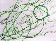 нейрографика Зеленый