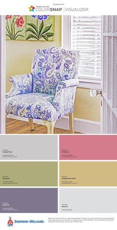Check out these beautiful Easter colors inspired by a sunny yellow sunroom that are perfect for spring or summer!  #interiordesign #interior #design #interiorinspo #designinspo #inspiration #color #colorinspo #colordesign #colorpalette #colorpalettedesign #colorpaletteinspo #colorscheme #colorschemedesign #easter #spring #colorschemeinspo #summer #sun